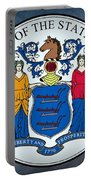 The Great Seal Of The State Of New Jersey Portable Battery Charger