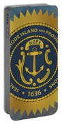 The Great Seal Of The State Of Rhode Island Portable Battery Charger