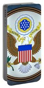 The Great Seal Of The United States  Portable Battery Charger