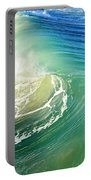 The Great Wave Portable Battery Charger by Laura Fasulo