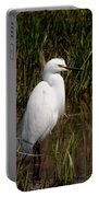 The Great White Heron Portable Battery Charger