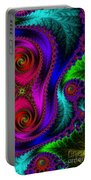 The Green Leaf Fractal Portable Battery Charger