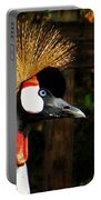 The Grey Crowned Crane Portable Battery Charger