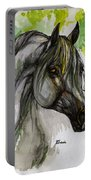 The Grey Horse Drawing Portable Battery Charger