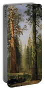 The Grizzly Giant Sequoia Mariposa Grove California Portable Battery Charger