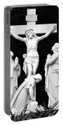 The Grotto - Calvary Scene Portable Battery Charger