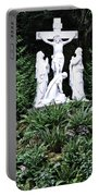 The Grotto In Portland - Calvary Scene  Portable Battery Charger