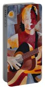 The Guitar Player Portable Battery Charger