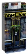 The Happy Christmas Pub Portable Battery Charger