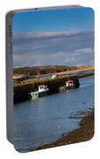 The Harbour At Hayle Cornwall Portable Battery Charger