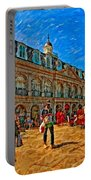 The Heart Of New Orleans Portable Battery Charger by Steve Harrington
