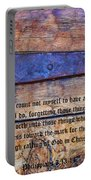 The High Calling Of God In Christ Jesus Portable Battery Charger