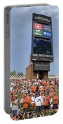 The Hill At Scott Stadium Uva Portable Battery Charger