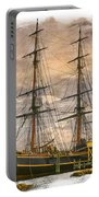 The Hms Bounty Portable Battery Charger by Debra and Dave Vanderlaan