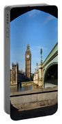 The Houses Of Parliament In London Portable Battery Charger