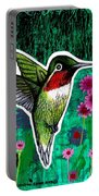 The Hummingbird Portable Battery Charger by Genevieve Esson
