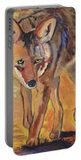Coyote Hunting Portable Battery Charger