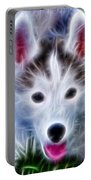 The Huskie Pup Portable Battery Charger by Bill Cannon