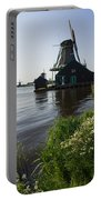 The Iconic Windmills Of  Holland  Portable Battery Charger