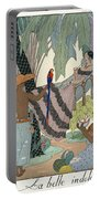 The Idle Beauty Portable Battery Charger by Georges Barbier