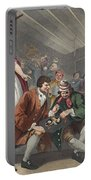 The Idle Prentice Betrayed Portable Battery Charger by William Hogarth