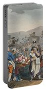 The Idle Prentice Executed At Tyburn Portable Battery Charger