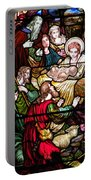 The Incarnation - Madonna And Child Portable Battery Charger