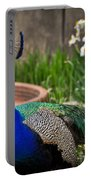 The Indian Peafowl Portable Battery Charger