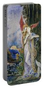 The Inspiration  Portable Battery Charger by Gustave Moreau