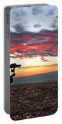 The Iron Horse Early Dawn The Iron Horse Collection Art Portable Battery Charger