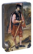 The Jester Named Don John Of Austria Portable Battery Charger