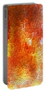 The Journey - Abstract Art By Sharon Cummings Portable Battery Charger