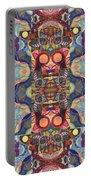 The Joy Of Design Mandala Series Puzzle 1 Arrangement 5 Portable Battery Charger