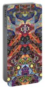 The Joy Of Design Mandala Series Puzzle 1 Arrangement 9 Portable Battery Charger