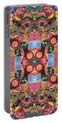 The Joy Of Design Mandala Series Puzzle 2 Arrangement 1 Portable Battery Charger