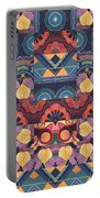 The Joy Of Design Mandala Series Puzzle 5 Arrangement 1 Portable Battery Charger