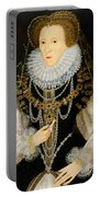 The Kitchener Portrait Of Queen Portable Battery Charger