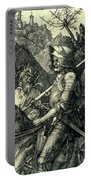 The Knight, Death And The Devil Portable Battery Charger