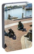 The Kunta Kinte-alex Haley Memorial In Annapolis Portable Battery Charger