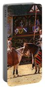 The Lady And The Knight Portable Battery Charger