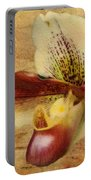 The Lady Slipper Orchid Portable Battery Charger