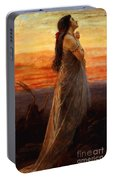 The Lament Of Jephthahs Daughter Portable Battery Charger