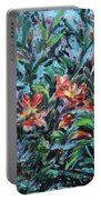 The Late Bloomers Portable Battery Charger by Xueling Zou