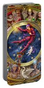 The Legacy Of The Devine Tarot Portable Battery Charger by Ciro Marchetti