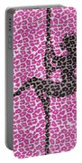 The Leopard Stripper Portable Battery Charger