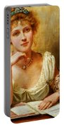 The Letter  Portable Battery Charger by George Goodwin Kilburne