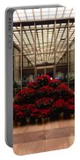 The Library Of Congress Madison Building At Christmas  Portable Battery Charger