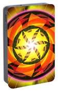 The Light Of Zen Portable Battery Charger by Derek Gedney
