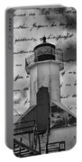 The Lighthouse Poem Portable Battery Charger