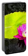 The Lily Pad And Flower... Portable Battery Charger